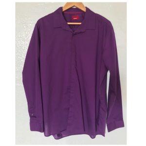 Alfani Slim Fit Stretch Long Sleeve Shirt